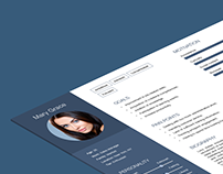 User Experience Persona Template