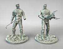 Gordon Freeman 3D models for 3D printing