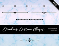 Dividers Custom Shapes