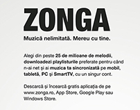 Plafar Magazine (monthly zonga page promo)