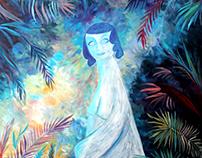 White Lady in Jungle 2017