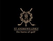 St Andrews Links Signage