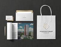 Corporate identity development for residential building