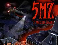 Cartel para la 5MZ de Alcalá de Henares