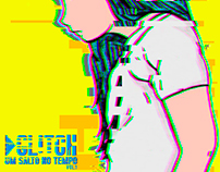 Arte de capa do projeto Glitch - Um salto no tempo