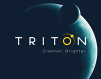 Triton LED Lighting Logo Development
