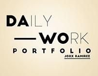Trabajos Del Día a Día // Daily Work portfolio