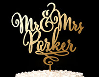 Wedding Signs - Lettering work