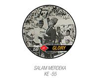 SALAM MERDEKA KE 55