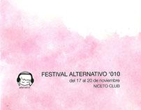 Sistema gráfico: Festival de música alternativa