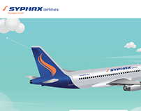 Syphax airlines website