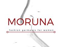 Branding MORUNA - fashion garments for women