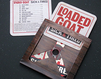 Loaded Goat CD Coaster package