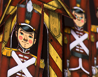Pop- up book The tin soldier