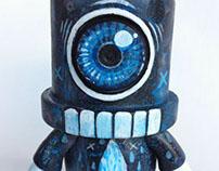 Custom Spray Qee Toy