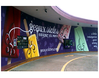Geauxsicles Mural Shreveport, Louisiana