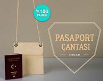Pasaportluk, Pasaport Kılıfı - Passport Case