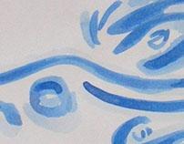 Tinta da China Azul / Chinese Blue Ink Junho/June 2012