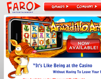 Faro Entertainment Website