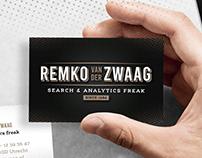Remko van der Zwaag | Logo & Stationery