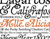 Lagarto typeface
