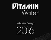 Searle Vitamin Water - Website Design