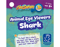 Educational Insights, Animal Eye Viewers Shark, hangtag