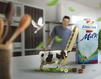Jujayna milk | Ad proposal