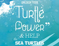Sea Turtles Conservation Poster