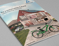 Notebook Cover Design for TÜV Rheinland Japan