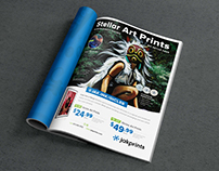Jakprints One Page Ad Design: CAN Journal