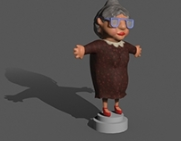 Turn around Old Lady