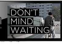 don't mind waiting/ interactive IPAD interface