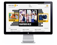 Norsk Form Design Institute web design