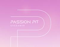 Passion Pit Gossamer Poster Design
