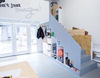 Дизайн мастерской Make Fabrication Studio