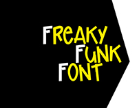 Freaky Funk Font