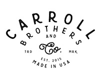 Carroll Brothers & Co. Branding