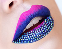 Studded Lip Art