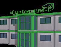 De Cabin Concurrent - 3D ontwerpen Cabins