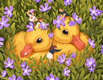 Nature Fairytale: Bright Book Illustrations