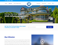 Custom Real Estate Website Design Made by Nexstair