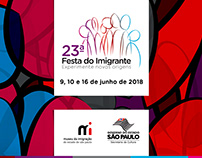 23ª Festa do Imigrante - Museu da Imigração