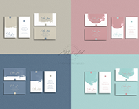 Package 8 Watercolors Business Card /Card Template