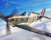 Spitfire MK I - Eduard Model Accessories boxart