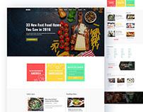 Restaurant Web-concept
