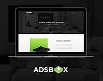 Adsbox Website Concept