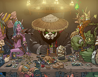 Streets Of Warcraft - Official Artbook