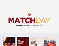 Galatasaray SK 2019-2020 Matchday Design