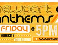 Newport City Anthems Facebook Banner